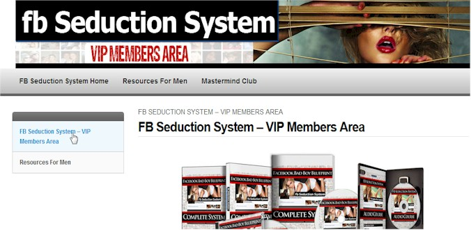 FB Seduction Member Area